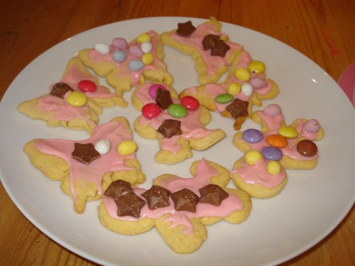 Decorated Biscuits